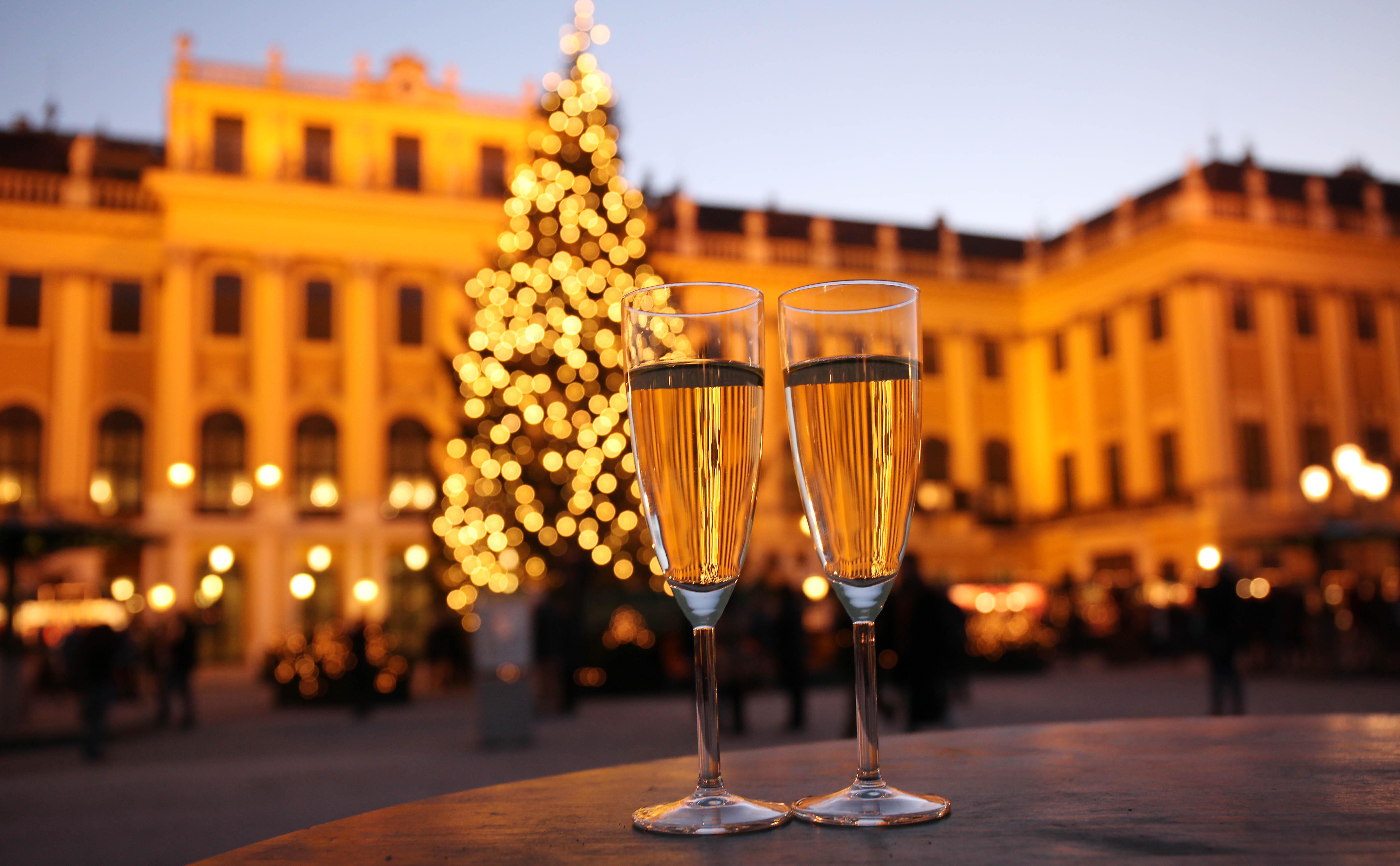 Neujahrsmarkt Schloß Schönbrunn